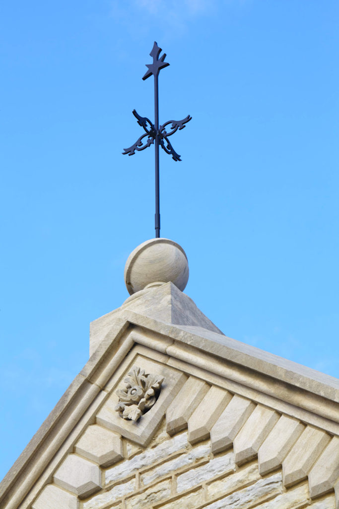 Crescent Hill Reservoir Gatehouse Weathervane closeup Jefferson County