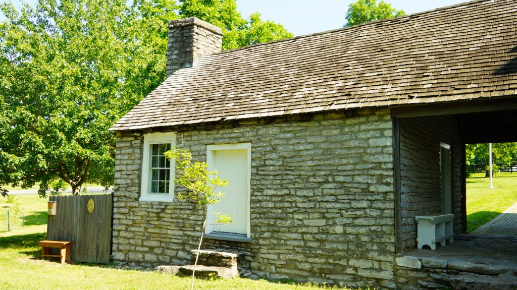 Jack Jouett stone kitchen Woodford County