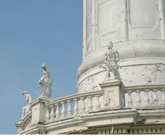 Louisville Water Tower Statues